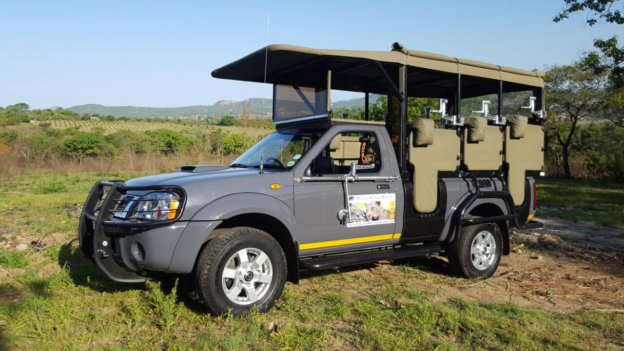 A day on Safari will give you the chance to spot some wildlife in the Kruger Park